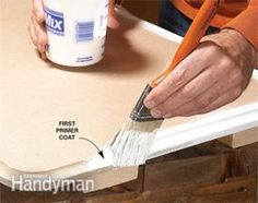 How to prep & paint MDF   The Family Handyman