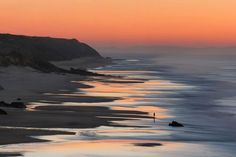 The coast near Sao Pedro de Moel village. Photo by Miguel Costa via National Geographic's 'My Shot'. Visit Portugal, Portugal Travel, Spain And Portugal, Spain Travel, Great Places, Places To See, Beautiful Places, Stunningly Beautiful, Beautiful Scenery