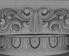 max distressed ionic capital coffee table Modelos 3d, 3d Background, 3ds Max, Restoration Hardware, Occult, Modeling, Gothic, Ornaments, Patterns