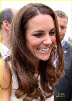 Kate, Duchess of Cambridge.  Can't help but smile when you are on Prince Edward Island