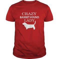 Basset hound  Crazy Basset hound lady LIMITED TIME ONLY. ORDER NOW if you like, Item Not Sold Anywhere Else. Amazing for you or gift for your family members and your friends. Thank you! #basset-hound #basset #hound