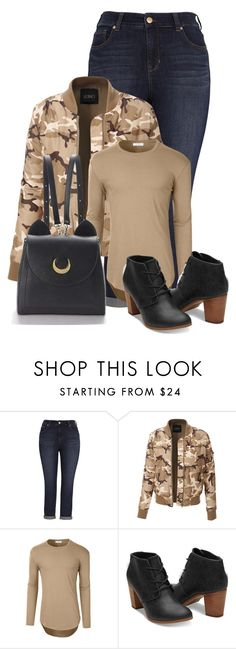 """""""Untitled #20400"""" by nanette-253 ❤ liked on Polyvore featuring Melissa McCarthy Seven7 and LE3NO"""