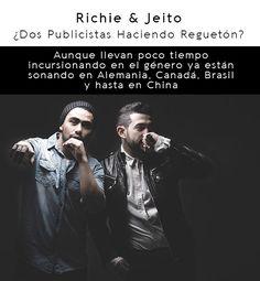Richie y Jeito dos publicistas haciendo Reguetón! Fictional Characters, Fantasy Characters