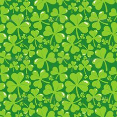 Buy Vector Seamless Pattern with Clover Leaves by venimo on GraphicRiver. Vector seamless pattern with clover leaves – abstract background. EPS and AI files, Jpeg file Cover Wallpaper, Holiday Icon, Abstract Backgrounds, Wallpaper Backgrounds, Wallpapers, Floral Flowers, Celtic, Graphic Design, Illustration