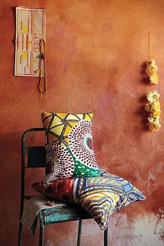 Ceplok Pillow - anthropologie.com