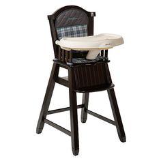 """Eddie Bauer Ridgewood Classic Wood High Chair - Espresso - Eddie Bauer - Babies """"R"""" Us"""