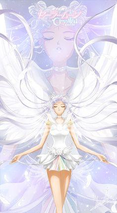 girlsbydaylight:  Sailor Cosmos by ANN4RT on pixiv