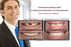 If you're looking for the best dentist Melbourne CBD? We offer General, Restorative and Cosmetic Dentistry Missing Teeth, Melbourne Cbd, Best Dentist, Something About You, Cosmetic Dentistry, Your Smile, Clinic, Tired, Dental