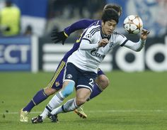 View the photo Schalke's Atsuto Uchida goes for the ball during the Champions League group G soccer match between Maribor and Schalke 04, at Ljudski Vrt stadium, in Maribor, Slovenia, Wednesday, Dec. 10, 2014.(AP Photo/Darko Bandic) on Yahoo News. Find more photos in our photo galleries.
