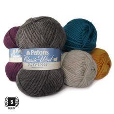 Classic Wool Roving - 輸入毛糸と編み物グッズ*チカディー*