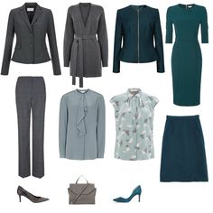 Autumn Mini Business Capsule Wardrobe