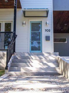 Modern front door | Modern Home | Austin Home  http://www.riversidehomesaustin.com/