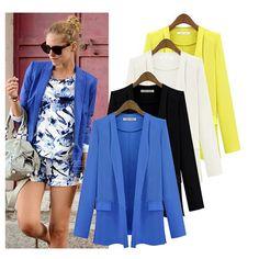 Cheap jacket woolen, Buy Quality jacket nautica directly from China wear john Suppliers:                                                                                                   Blazer Womens Fe