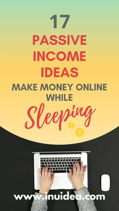 Need proven passive income ideas? Check out 17 passive income ideas you can start from home to make money online. With these passive income streams make money while sleeping or traveling. Ways To Earn Money, Make Money Fast, Earn Money From Home, Make Money Blogging, Win Money, Money Now, Money Today, Online Income, Online Earning