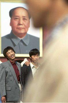 China. Beijing. Tiananmen Square. Chairman Mao