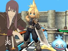 """Check out www.clesstahn.com for an update -- possible Dragon Quest/Final Fantasy/""""Tales of..."""" collaboration..?  http://www.siliconera.com/2013/10/17/final-fantasy-dragon-quest-tales-collaboration-might-possible/  - Credit to our fellow fan for originally posting this article here in the """"ClesStahn"""" facebook Group!  - Credit to Siliconera for this image  #finalfantasy #dragonquest #talesof #talesseries #clesstahn #dragonwarrior #siliconera"""