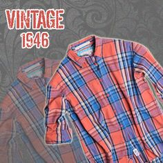 Real vintage madras shirts in the hottest colors for summer! Shop online: