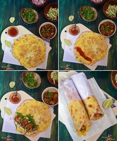 Kolkata Style Egg Chicken Roll is one of the most popular Bengali street food which is widely available in all over West Bengal. This is the most widely used recipe among the Roll centres on the streets of Kolkata. Rolled Chicken Recipes, Chicken Snacks, Indian Chicken Recipes, Egg Roll Recipes, Kebab Recipes, Wrap Recipes, Indian Food Recipes, Snack Recipes, Cooking Recipes