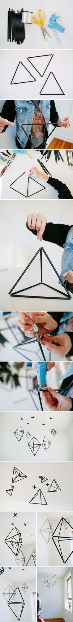 geometric straw