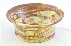Classic Light Green Onyx Bowl | BW4LG. This 8 inch classic bowl is crafted in Light Green Onyx. It has been designed by a famous designer in New York and it is a Nature Home Decor exclusive product.