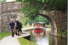 Go on a horse drawn boat trip or a motorised aqueduct cruise and soak up the sites of this world heritage site at Llangollen Wharf. Horse Drawn, Days Out, World Heritage Sites, Welsh, Cruise, To Go, Boat, Horses, Adventure
