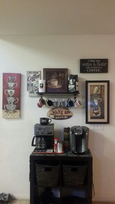 Our coffee station