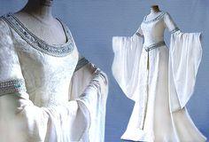 Vestido de novia vestido de elfo Arwen del Señor por Elfenkleider