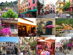 Cinque Terre, Times Square, Highlights, Street View, Italy, Travel, Italia, Viajes, Luminizer