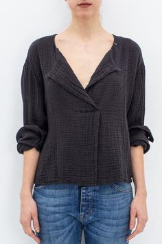 BOXY DAY BLOUSE