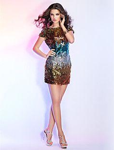 PERNILLE - Vestido de Coquetel em Lanetjoulas – USD $ 199.99