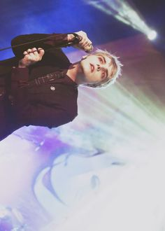 "remember when you and I would make things up? ✧ gerard way of ""hesitant alien"""