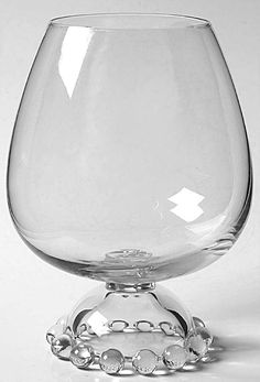 Imperial Glass Ohio CANDLEWICK CLEAR Ivy Bow