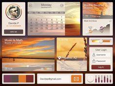 Desert - Free UI Kit