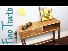 aparador Fino Trato - DIY design - faça você mesmo seus móveis e objetos