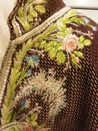 Image result for 18th century waistcoat detail