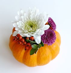 Who doesn't love mini pumpkins? Here are 12 DIYs just for the little guys.