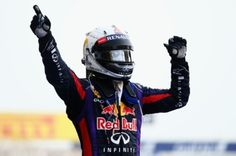 Sebastian Vettel won the 2013 Bahrain GP ahead of Kimi Raikkonen and Romain Grosjean. Sahara Force India's Paul Di Resta equalled his career best 4th place.     Sebastian Vettels Wins The 2013 Bahrain GP (Courtesy: Red Bull Racing)