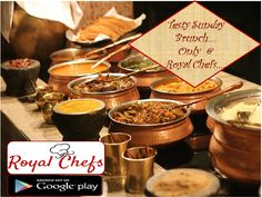 Start your Sunday with tasty tasty starters......Order on Royal Chefs! Download the app now...