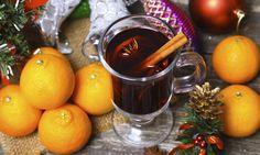 Svařené víno s vůní pomeranče