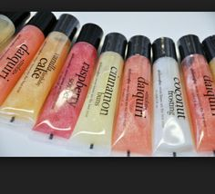 Different Flavors Of Lip Gloss Philosophy