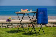 Beach Front Villa , Rhodes, Greece AntonoglouBeachVillas Rhodes Beaches, Beach Villa, Outdoor Furniture Sets, Outdoor Decor, Villas, Greece, Home Decor, Greece Country, Decoration Home