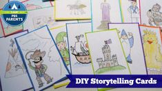Design your own storytelling cards at PBS Parents