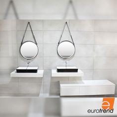 Innovation, research, coherence, new materials, and flexible affordable solutions have been the key concepts of Eurotrend's philosophy since it was established. Basin Design, Basins, Corian, Remodeling, Innovation, Range, Mirror, Bathroom, Home Decor