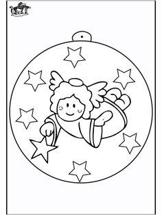 Christmas ball with angel 2