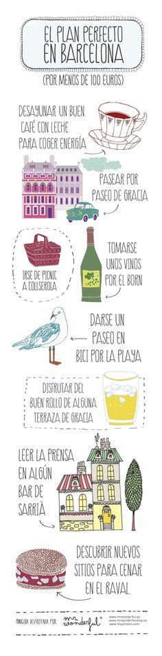 El plan perfecto en Barcelona por menos de 100 euros. | muymolon