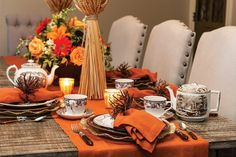 Create a lovely and intimate ambiance for afternoon tea with candlelight and a menu brimming with autumnal flavors. This tranquil thanksgiving tea will delight all of your guests. Autumn Tea, Autumn Table, Napkin Folding, Simple Pleasures, High Tea, Afternoon Tea, Tea Time, Tea Party, Something To Do
