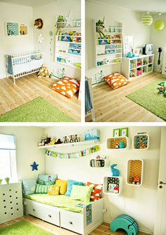 Modern Scandinavian Nursery designed by Therese, Tipsy Tessie, from Sweden