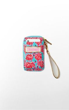 Carded ID Wristlet Canvas