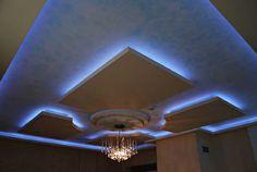 Modern Ceiling Designs With Hidden LED Lighting Fixtures by Irena Ivanova