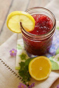 Lemon Blueberry Moonshine Slush   19 Moonshine Recipes That Are Perfectly Legal